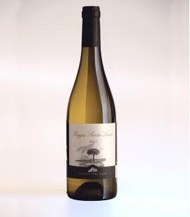 Tuscan white wine Poggio Santa Lucia